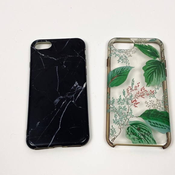 iPhone 7 Phone Cases set of 2 Kate Spade & Marble